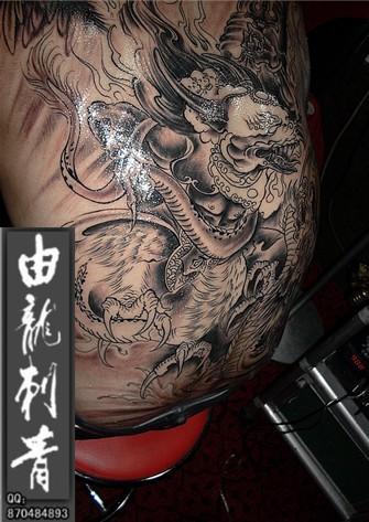 青龙纹身图案