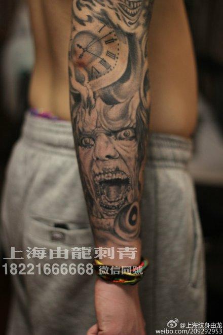 菩萨纹身包臂内容图片分享