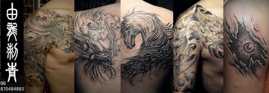 上海纹身的魅力所在_上海由龙刺青
