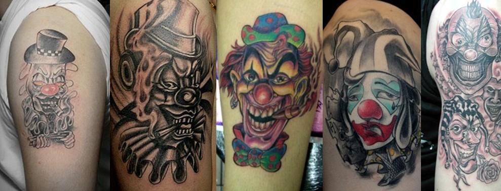 上海纹身|小丑纹身|小丑纹身寓意|小丑纹身图案