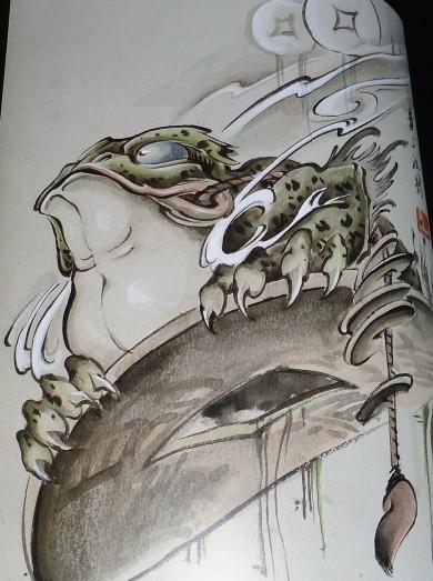上海纹身|金蟾纹身|金蟾纹身图案