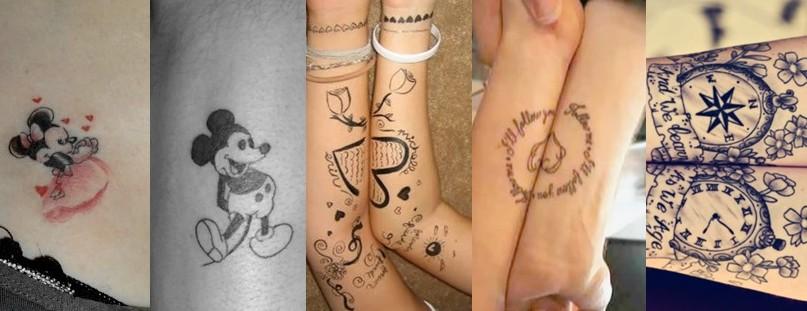 上海纹身情侣纹身_上海由龙刺青