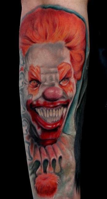 肮脏玫瑰; 小丑面具纹身小丑哭泣面具纹身 小丑面具纹身图案1; 纹身图